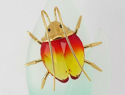 Swarovski Amazar Beetle Fire Opal Medium Retired (250473)