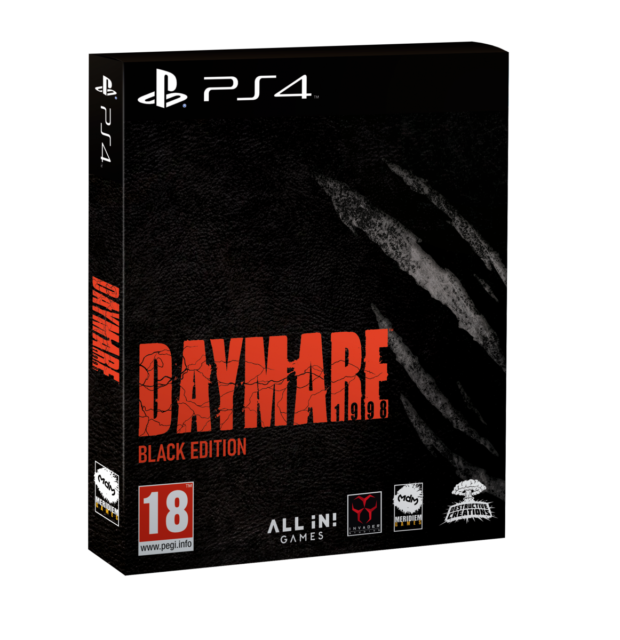 video games - Daymare: 1998 - Black Edition (PS4)