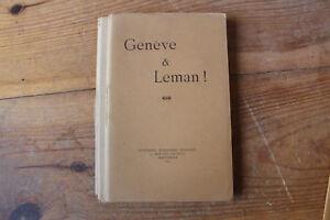 Tres-rare-GENEVE-et-LEMAN-034-chant-d-039-action-de-graces-apres-boire-034-1891-SUISSE