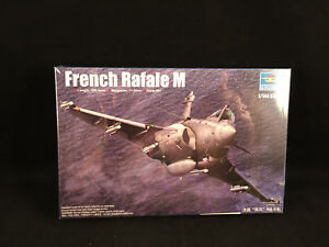 Trumpeter-French-Rafale-M-1-144-Scale-Plastic-Model-Kit-03914-New-Sealed-Box