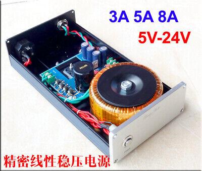120W DC Linear power supply voltage regulator DC 9V 5A Upgrade PSU of audio