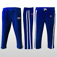 Prime Mens Fleece Jogging Trousers Pants Mma Bottom Joggers Royal Blue S M L Xl