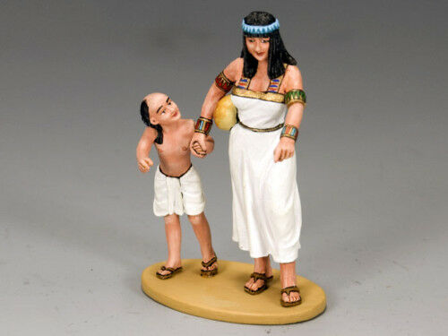 KING AND COUNTRY EGYPT Mother & Son AE42 AE042