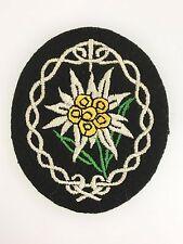 WWII Germany/German Army/Heer Gebirgsjager or mountain troops cloth sleeve patch