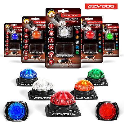 EzyDog Adventure Light Flashing Dog Safety LED All Colours or Maintenance Kit