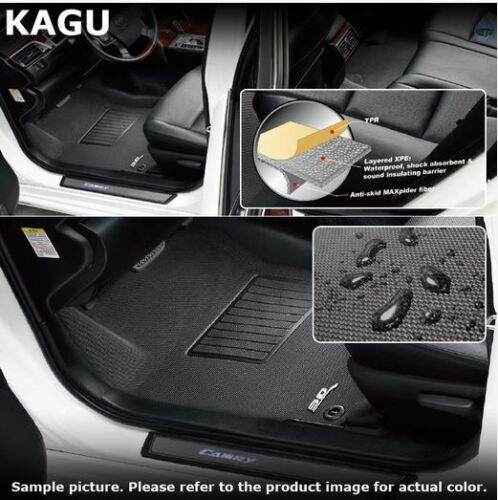 Mazda CX-5 2013-2016 Front /& Rear KAGU U-ACE 3D Floor Liners 3 Piece Set
