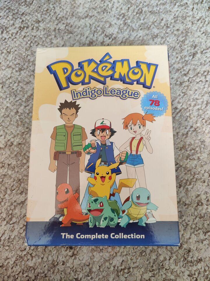Pokémon Indigo League Complete Collection, DVD,