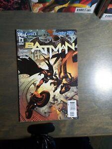 BATMAN-2-New-52-First-print-D-C-Comics-Scott-Snyder-Greg-Capullo-NM-2011