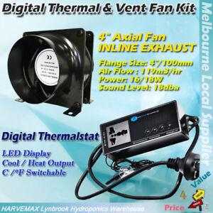 Hydroponic Digital Temperature Controller Thermostat 4