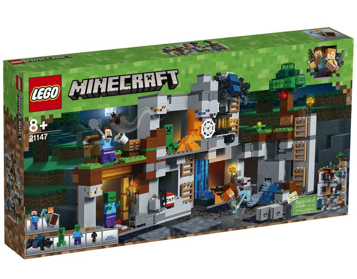 Lego Minecraft Aventure dans le Roche (21147)