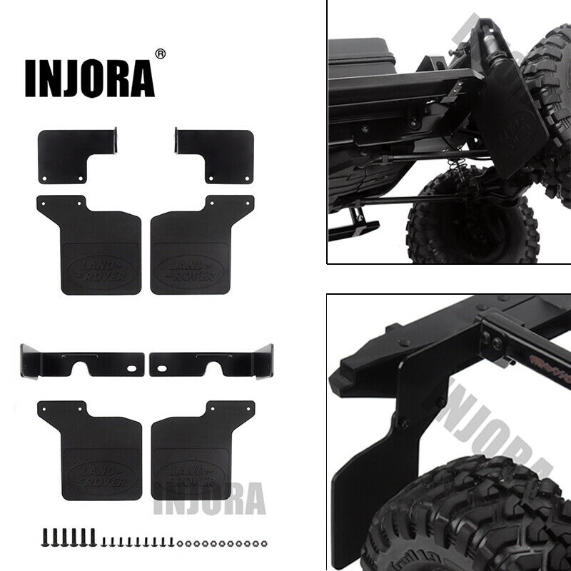 1:10 RC Rubber Quarters Rear Fender Mud Flaps For RC Crawler Traxxas TRX-4 D110