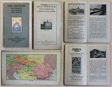 Die Donau von Passau bis Giurgiu und Russe 1925 Reiseführer Bayern Bulgarien xz