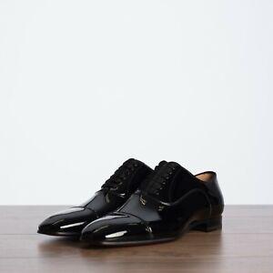 Greggo Oxford Shoes In Black Patent