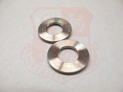 Titanium 10mm Solid Axle Washer Pair Fixie Fixed Gear SingleSpeed Alfine Rohloff