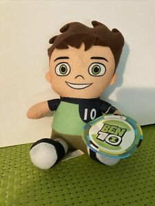 """Ben 10 Plush 7 1/2"""" Stuffed Toy by Toy Factory"""