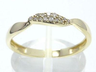 Brandneu 1//10 Karat Diamant Solitaire 9 Karat Weiß Goldanhänger /& 45.7cm Kette