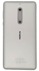 finest selection 7de5c 16cc2 Details about Nokia 5 TA-1024 Silver Back Battery Housing Cover Case  Battery Body