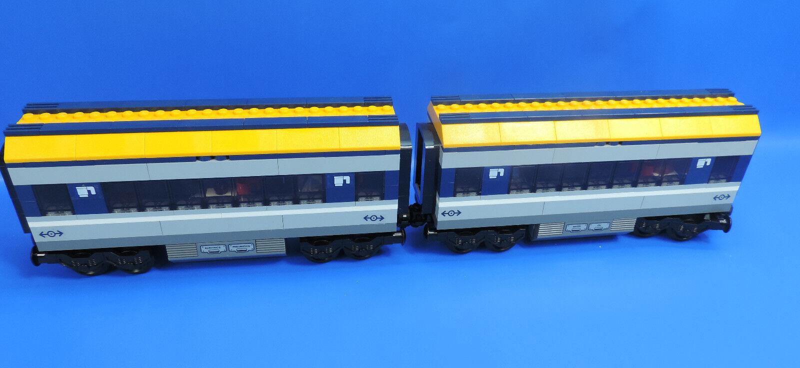 LEGO ® 60197 Ferrovie 2x vagone ristorante fondi vagone bordo Café RISTORANTE
