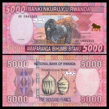 RWANDA 5000 Francs 01.02. 2014 UNC P 37 b