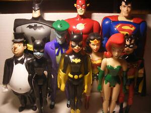 Marvel Dc Comics Super Héros Figurines Série Rapide Lot Complète Justice League