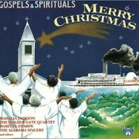 Gospels & Spirituals-Merry Christmas Mahalia Jackson, Golden Gate Quartet.. [CD]