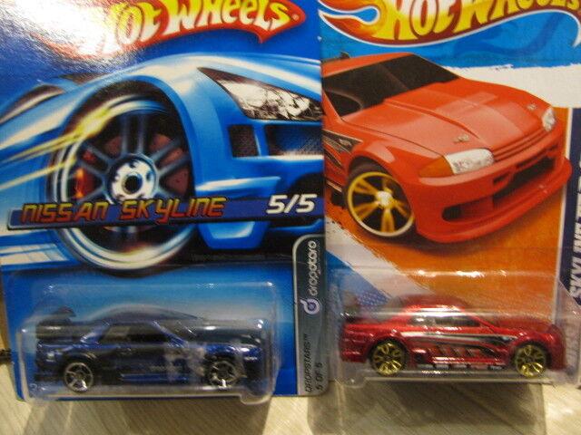 Hot Wheels Nissan Skyline GT-R (R32) (2 un.) Hotwheels Hotwheels Hotwheels 3b9132