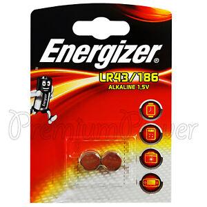 2-x-Pilas-alcalinas-Energizer-LR43-186-1-5V-1176A-AG12-Calculadoras-Relojes
