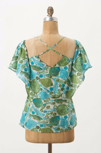 Anthropologie Virginia Vanessa Nwt Sounds 4 Top Regular Puget By ZqUwYdU