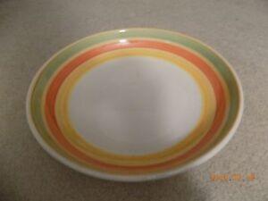 Vintage Italian Pottery Pasta Serving Bowl Tre Ci Italy | eBay