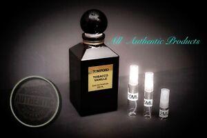 19e3e9e707567 Tom Ford Tobacco Vanille EDP 2ml 3ml 5ml 10ml AUTHENTIC DECANT ...