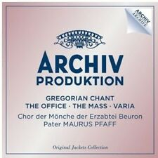 Benedictine Abbey of - Gregorian Chant: The Office / the Mass / Varia [New CD]