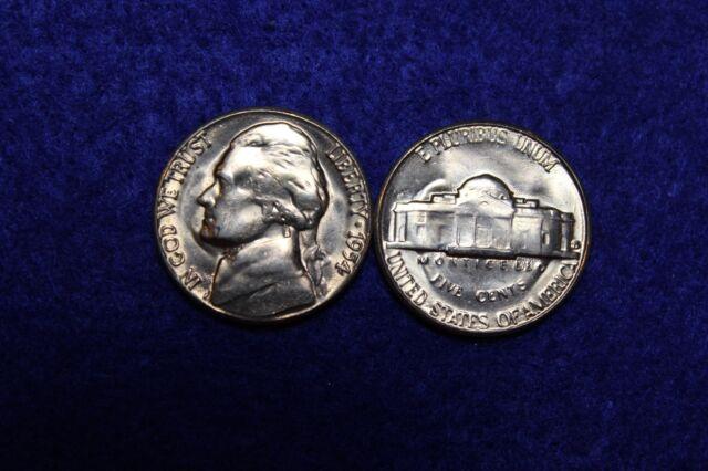 1954 S BU Jefferson Nickel From Original Roll