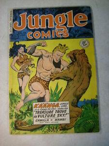 JUNGLE-COMICS-119-KAANGA-CAMILLA-WAMBI-FICTION-HOUSE-1949-SIMBA