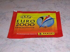 EURO-2000-CALCIATORI-BUSTINA-SIGILLATA-PANINI-NUOVA-PERFETTA-RARA