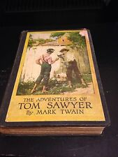 The Adventures Of Tom Sawyer By Matk Twain Copyright 1917