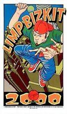 Limp Bizkit Virgin Megastore 2000 Firehouse Poster