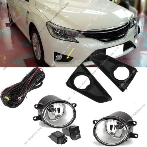 Bumper Bezel Fog Light Driving Lamp Wiring Kit j For TOYOTA REIZ //MARK X 2013-18
