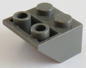 LEGO® 30 Stück Dachsteine Schrägsteine Invers Slope 45° alt-hellgrau 2 3660