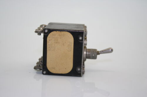 Airpax APGN666-1-42F-203 Hydraulic Magnetic Circuit Breaker Protector Switch 20A