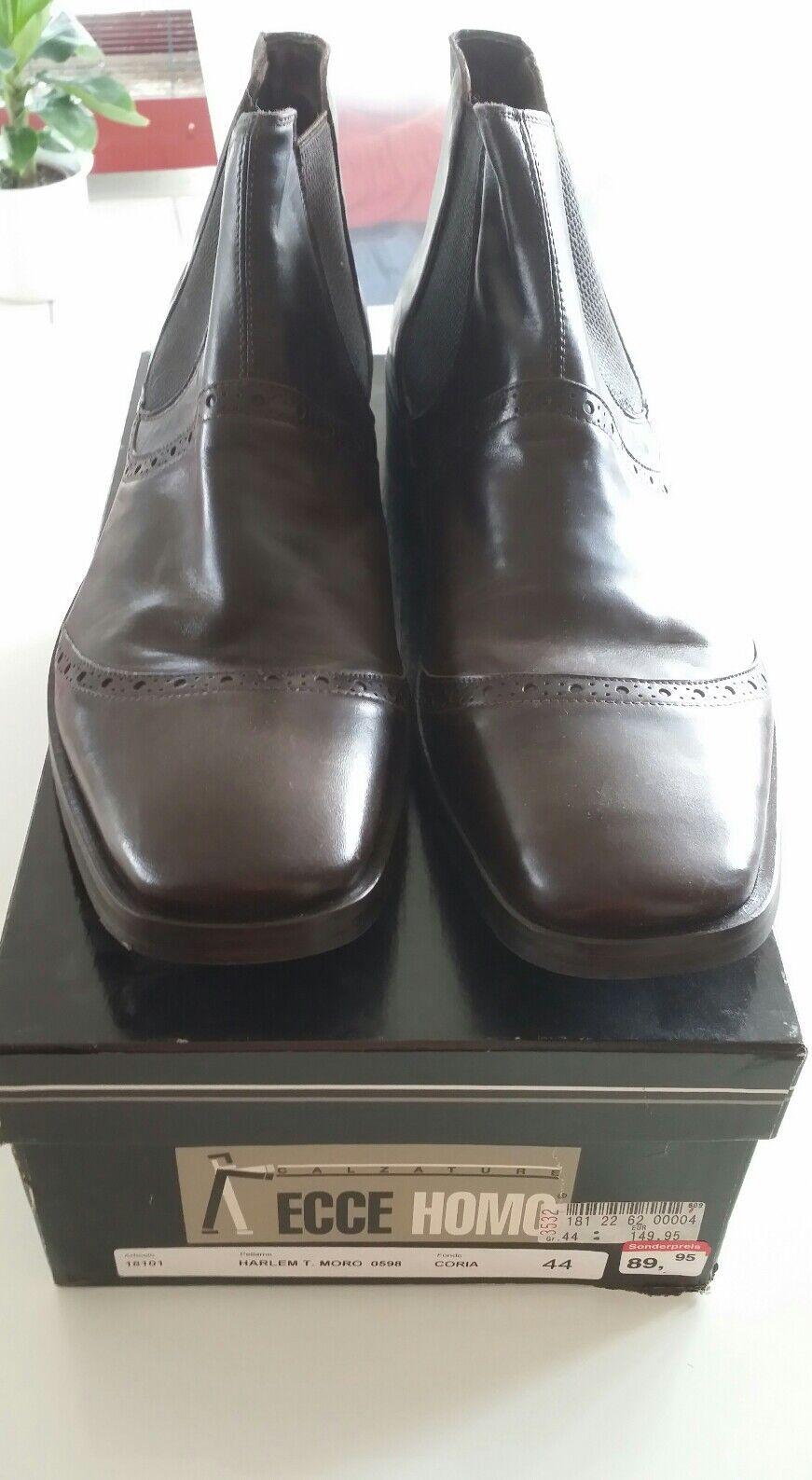 Ecce homo Boots Leder braun  Größe 44 neu