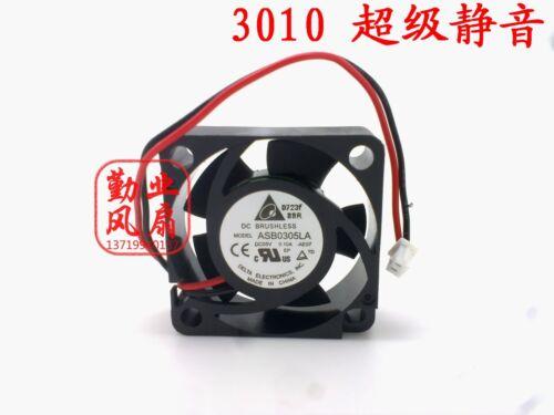 1pc Delta ASB0305LA fan 3010 3CM 5V 0.10A 2pin #M3362 QL