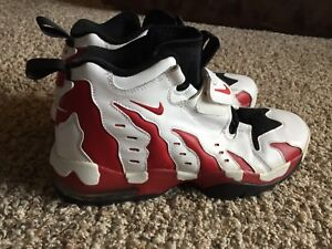47a9cc642d244a New NIKE AIR DT MAX 96 Deion Sanders white   red size 10.5 rare
