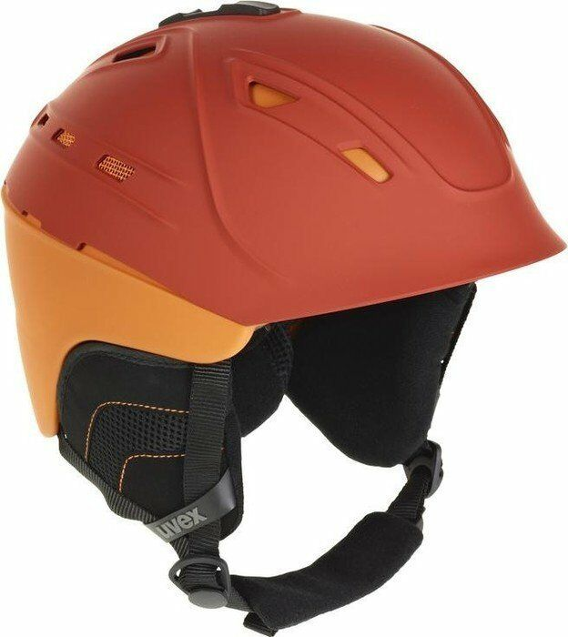 NEW UVEX P2US SKI SNOWBOARD HELMET  Blood orange Matte Small  51-55 cm S  sale online