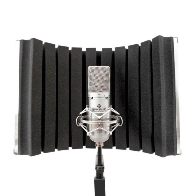 Editors Keys Portable Vocal Booth Flex Edition - Low cost recording StudioSeries