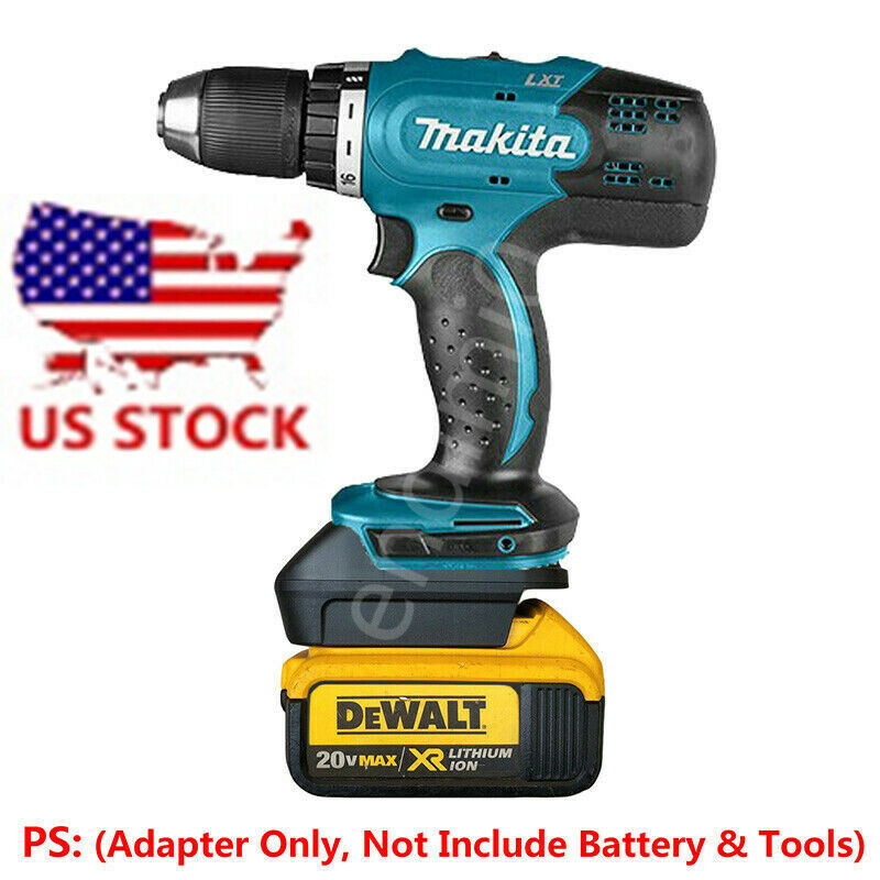DEWALT 20V Li-ion Battery to Makita 18V BL1820/30/40 Tools A