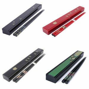 Japanese Portable Travel Reusable Chopsticks Plastic Case Made in Japan