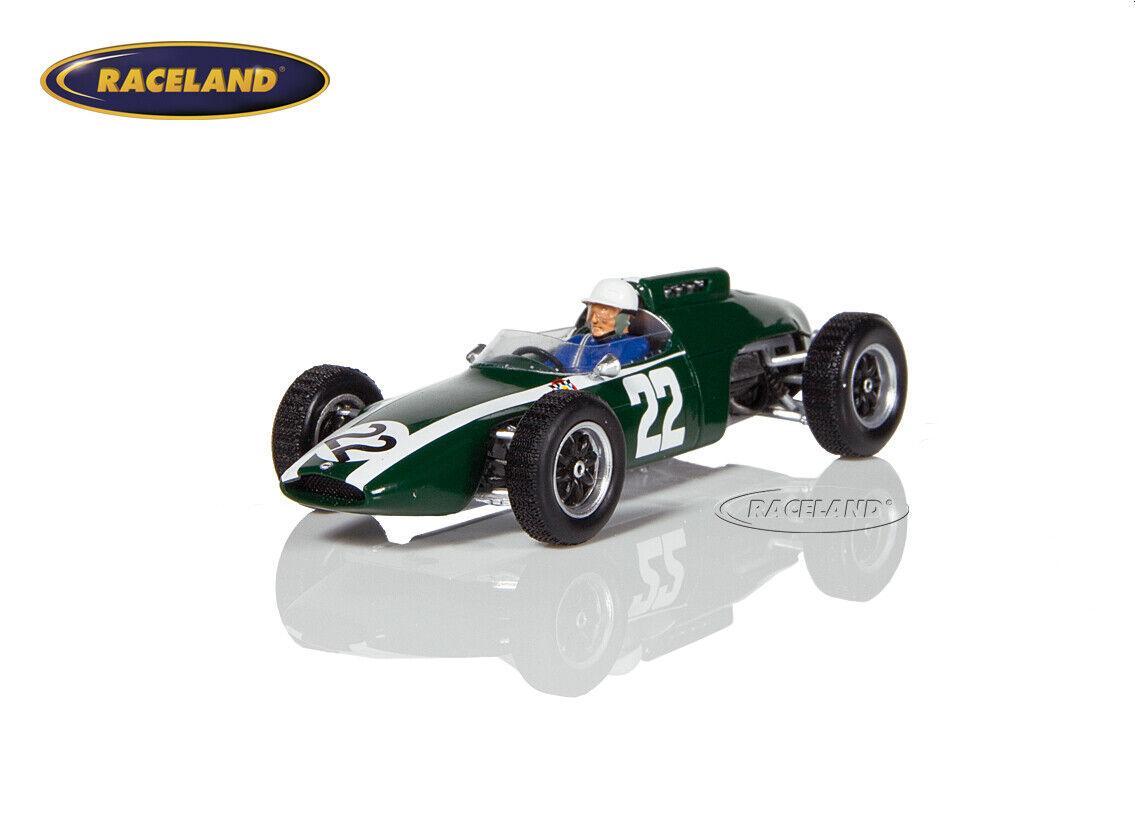 Cooper Climax t60 v8 f1 GP Allemagne 1963 Mário arahul de Cabral, SPARK 1 43