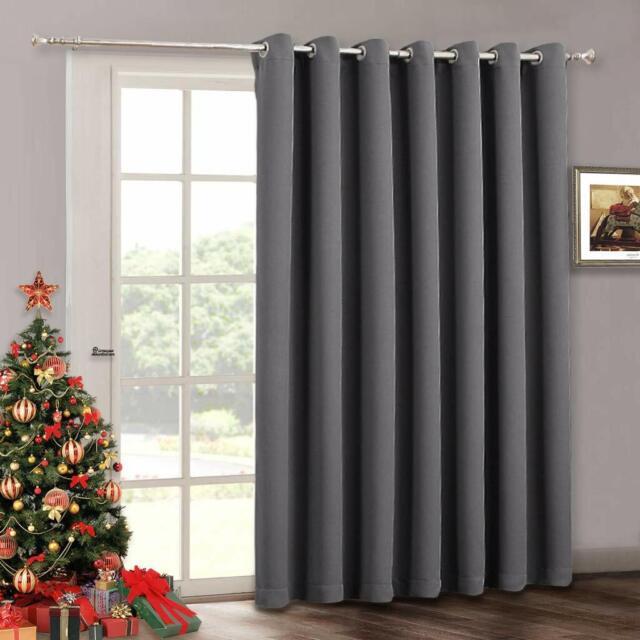 Blackout Patio Door Curtain Grommet