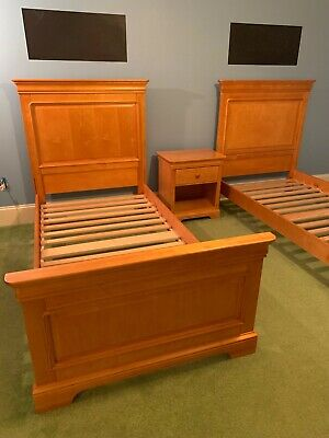 Stanley Young America Twin Bed Set With, Young America Furniture