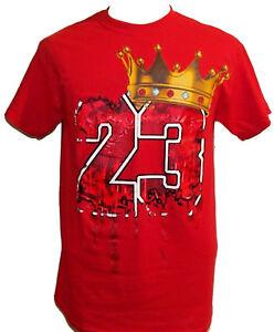 Men S Short Sleeve T Shirt 23 King Lebron James Graphic Basketball